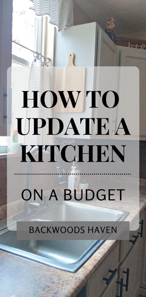 HOW TO UPDATE A KITCHEN ON A BUDGET