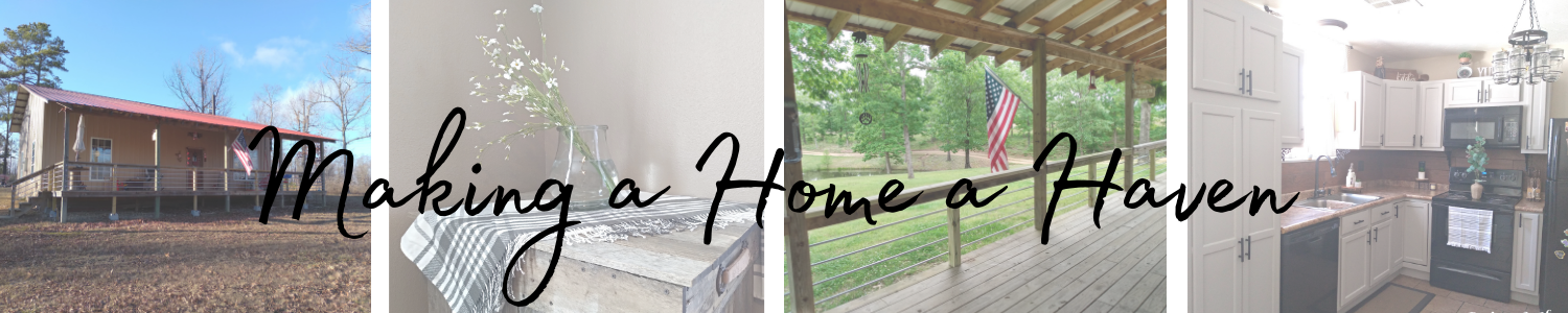making a home a haven