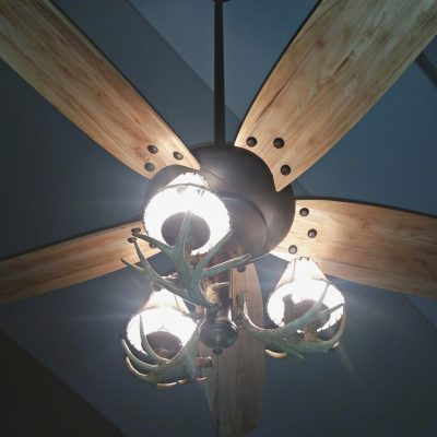 AN EASY CEILING FAN MAKEOVER