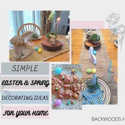 SIMPLE EASTER AND SPRING DECORATING IDEAS FOR YOUR HOME