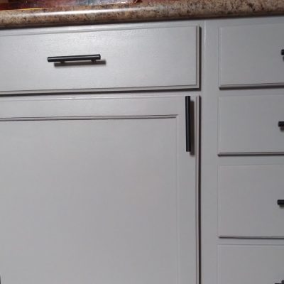 HOW TO PAINT KITCHEN CABINETS WITH NUVO PAINT KIT