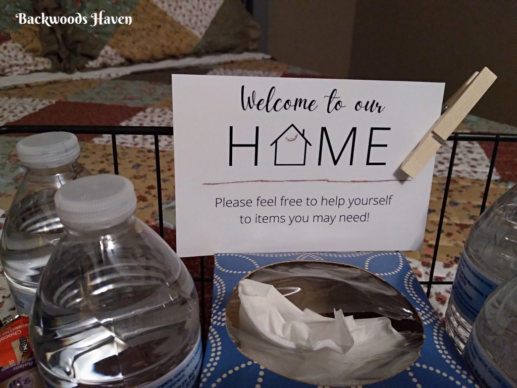welcome to our home free printable