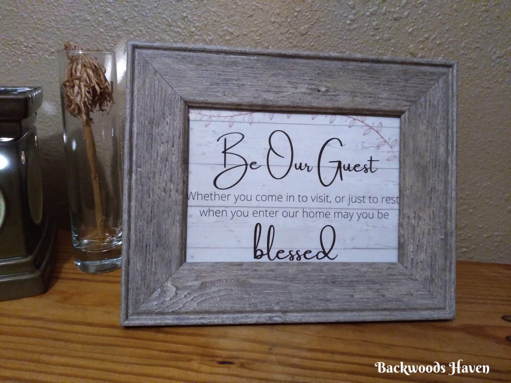 be our guest free printable