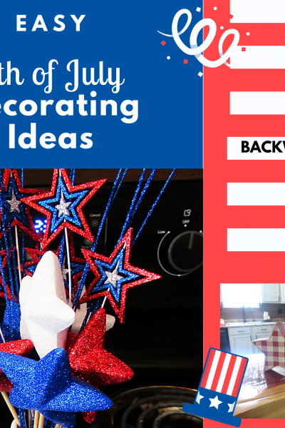 Easy 4th of july decorating ideas