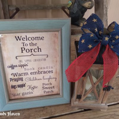 INEXPENSIVE 4TH OF JULY FRONT PORCH IDEAS