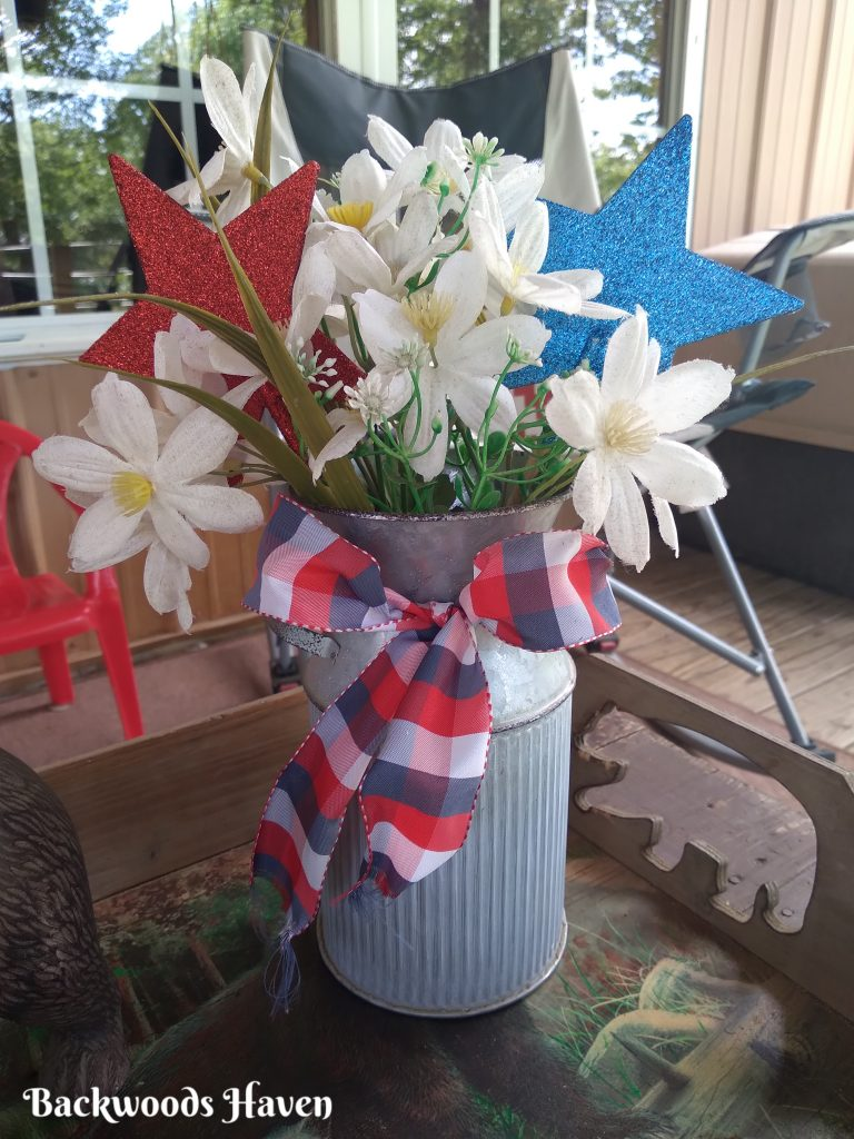 inexpensive 4th of July front porch decor ideas