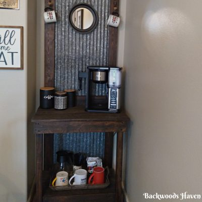 HOW TO CREATE A COFFEE BAR IN A SMALL SPACE