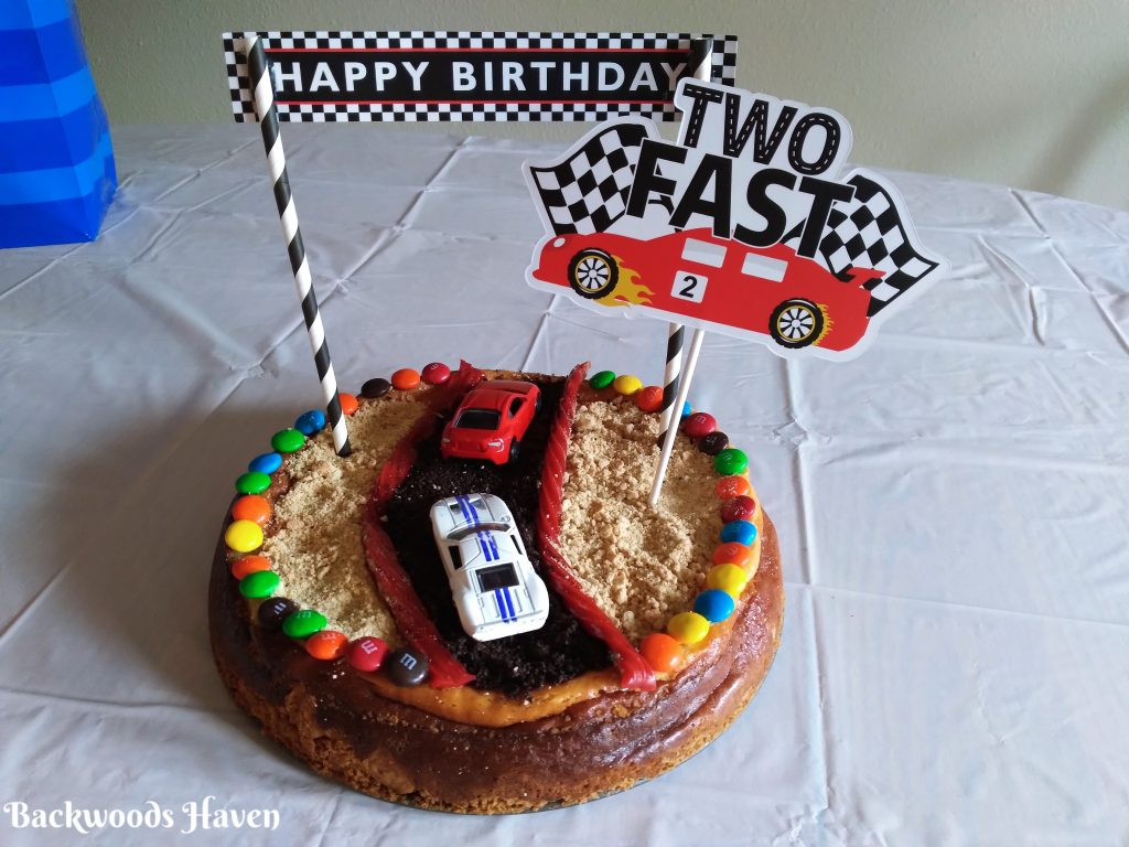 two fast birthday party cake
