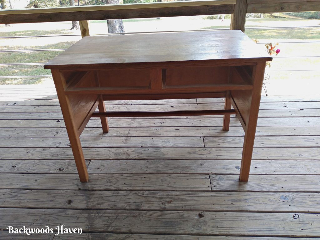 BEFORE PICTURE OF DESK